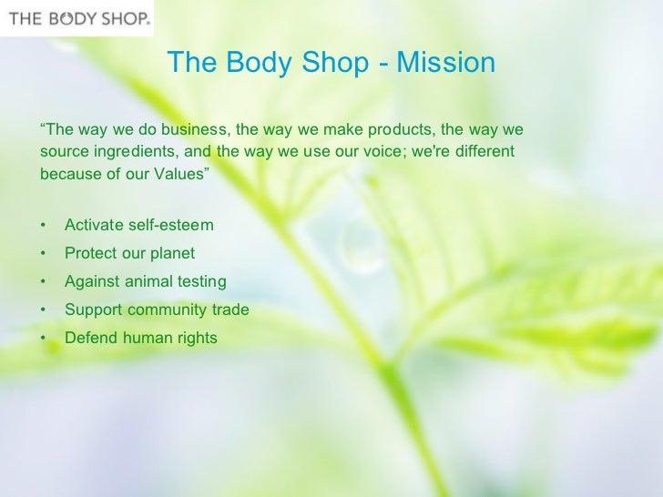 swot analysis of body shop