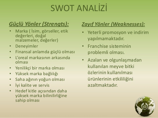 bodyshop swot It helped the clients purchase the products of the body shop  we will write a  custom essay sample on the body shop specifically for you  for the body  shop the body shop international case study swot analysis ice cream shop .