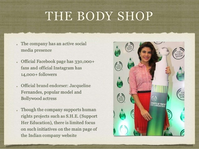 body shop case study essays Analysis of 'the body shop' case study the case study is on the body shop, i will include the following in the additional files: 1 the body shop ca.