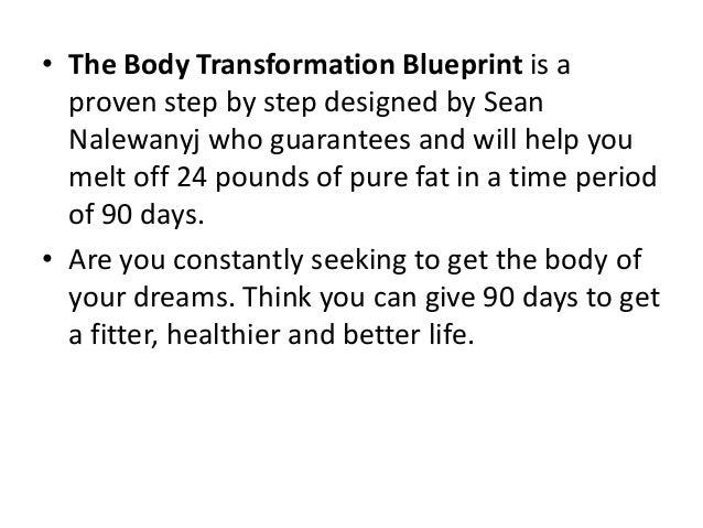 the body transformation blueprint pdf