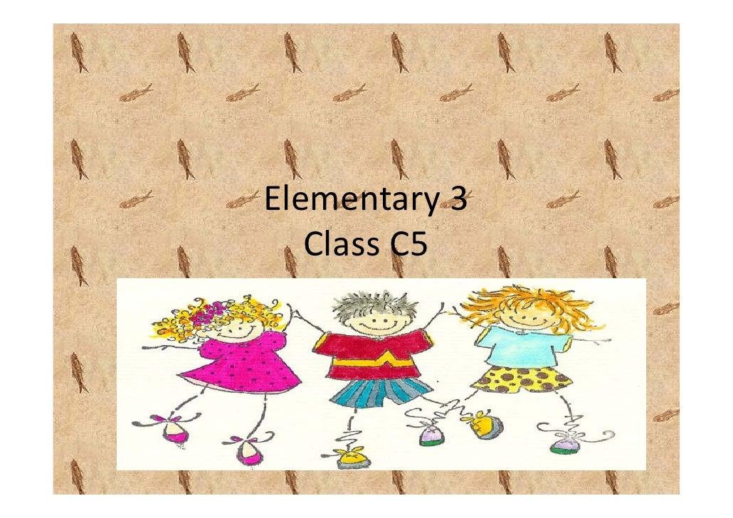 Elementary3    ClassC5