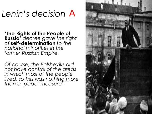 Bolshevik Consolidation of Power 19-17-1924