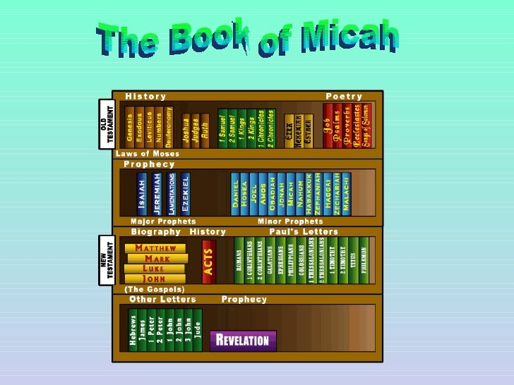 The Book of Micah