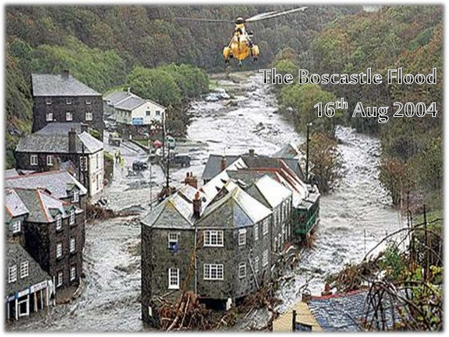 boscastle flood 2004 step 1 - to complete the questions on the task sheet: the boscastle flood 2004  to complete the task sheet download the following resources by clicking on.