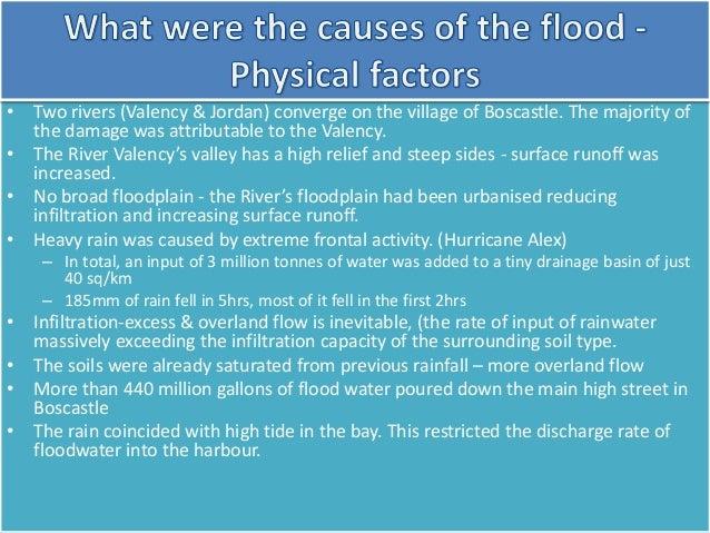 boscastle flood 2004 case study effects