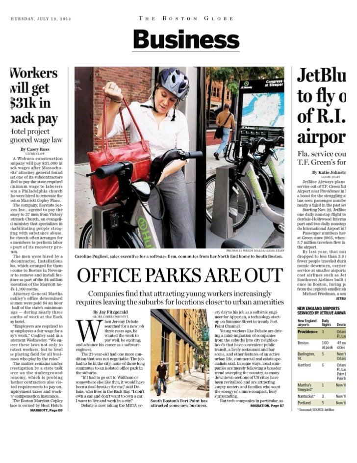 The Boston Globe - 19 jul 2012 - page #19