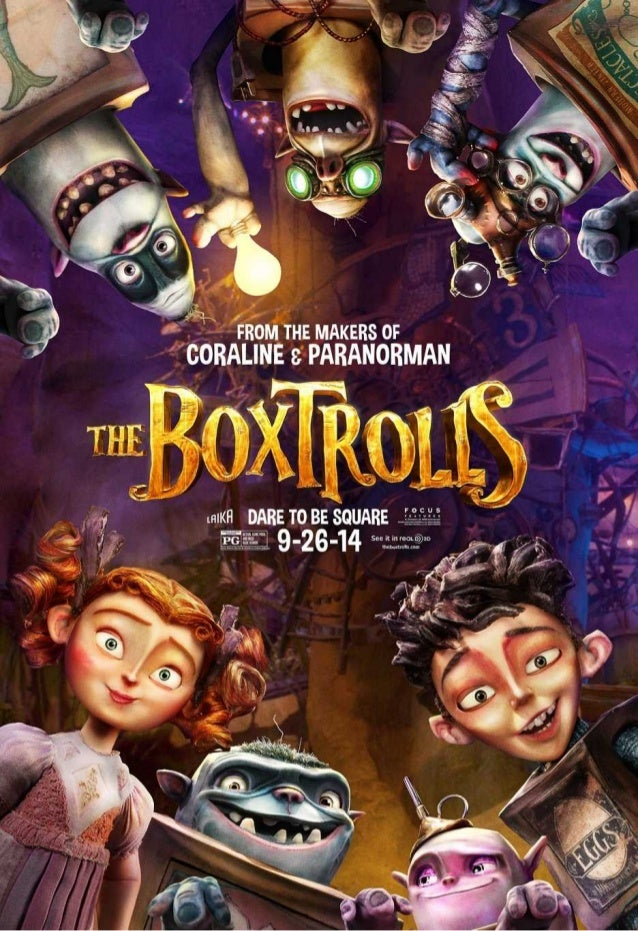 The Boxtrolls For Educational Pur