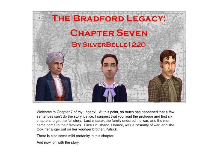 """Welcome to Chapter 7 of my Legacy! At this point, so much has happened that a few sentences can""""t do the story justice. I ..."""