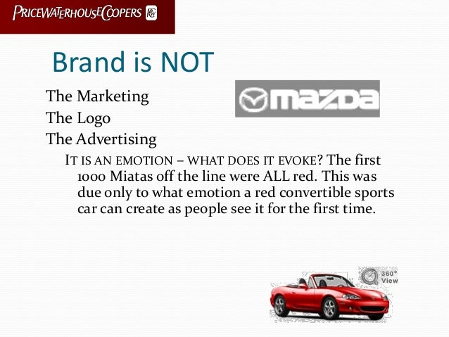 Brand is NOT The Marketing The Logo The Advertising IT IS AN EMOTION – WHAT DOES IT EVOKE? The first 1000 Miatas off the l...