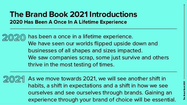 The Brand Book 2021  Slide 2