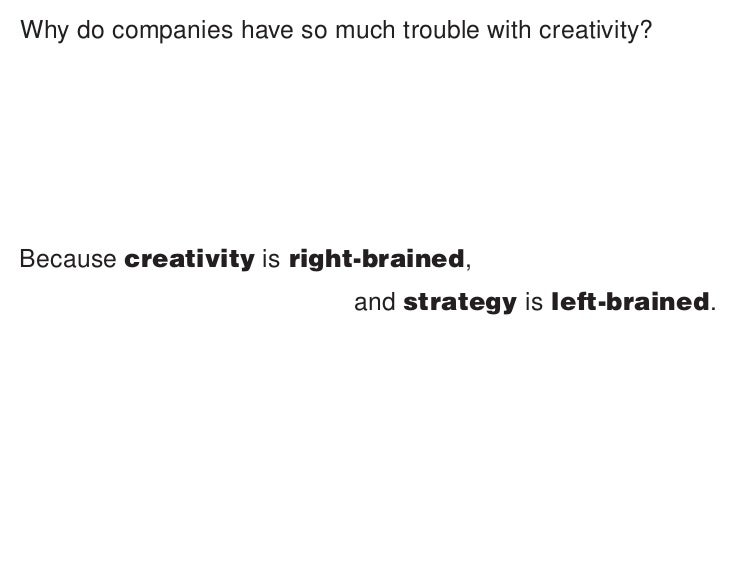 QUESTION:          How do you know when an idea is innovative?