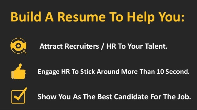 resume branding quot how to build a resume to stand out of