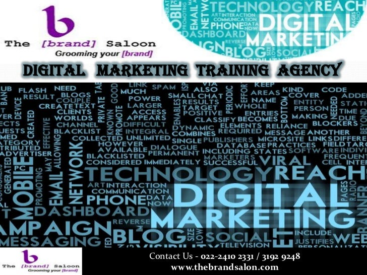 Digital Marketing Training Agency             Contact Us - 022-2410 2331 / 3192 9248                  www.thebrandsalon.com