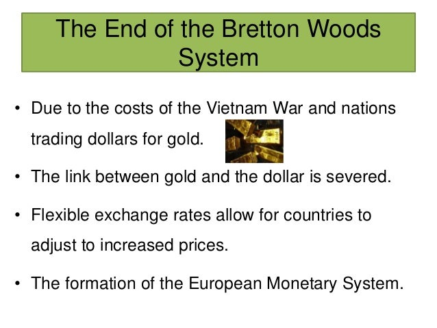 "advantage and disadvantage of bretton woods system Offset the advantages to each counti-v of cheat- ing ""'  disadvantage of fixed  rates is that individual  the bretton woods system as a whole was more."