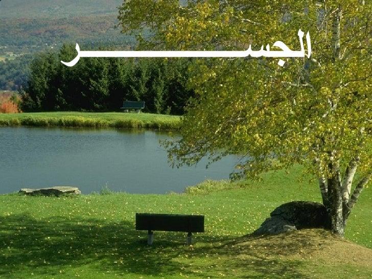 الجســــــــــــــــــر