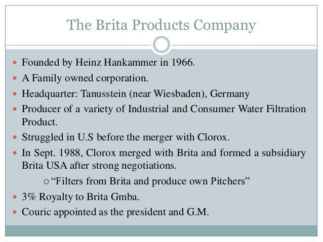 to what do you attribute brita?s success