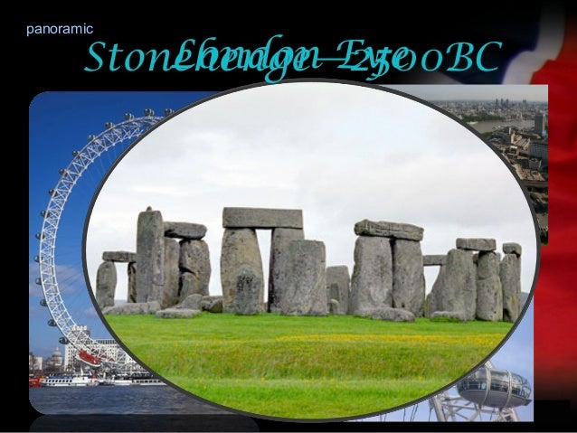 your nameLondon EyepanoramicStonehenge—2500BC
