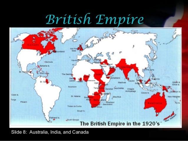 your nameBritish EmpireSlide 8: Australia, India, and Canada