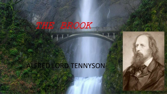 theme of the poem the brook by alfred lord tennyson