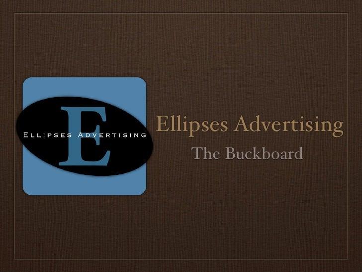 Ellipses Advertising    The Buckboard