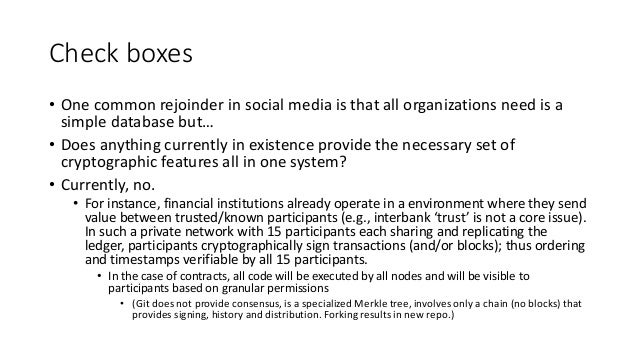 Why not (re)use one communal chain for everything?