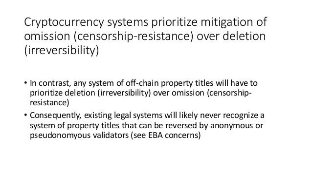 One short-term reason to hold hydrabinocoin • Some of the stated use-cases make it self-defeating to use Xapo (e.g., using...