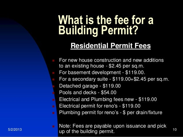 The building permit process for your home renovation for What is the process of building a house
