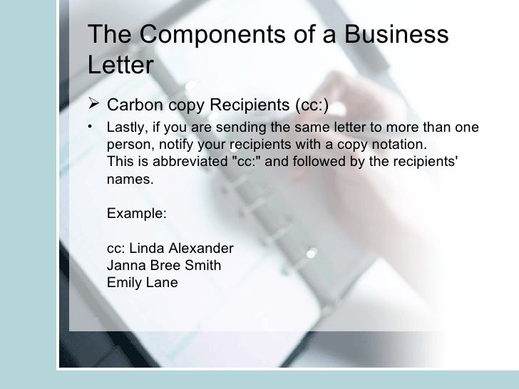 The business and informal letter copy report findings 13 spiritdancerdesigns Choice Image