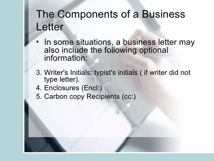 The Business And Informal Letter Copy