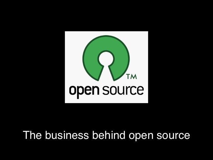 The business behind open source