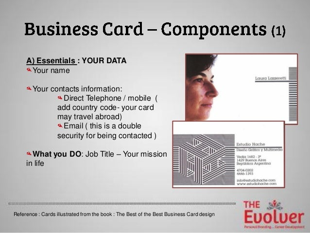 The business card principles part 1 design dosdonts 4 a essentials colourmoves