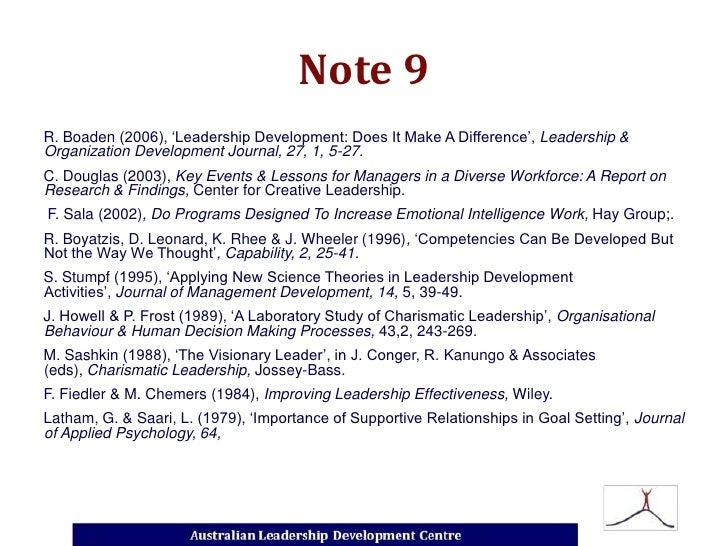 visionary leadership compared to charismatic leadership essay