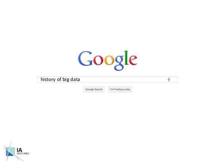history of big data<br />