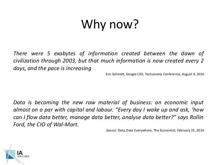 The Business of Big Data - IA Ventures Slide 3