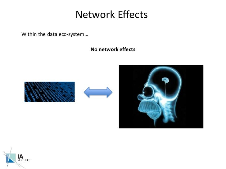 Network Effects<br />Within the data eco-system…<br />No network effects<br />