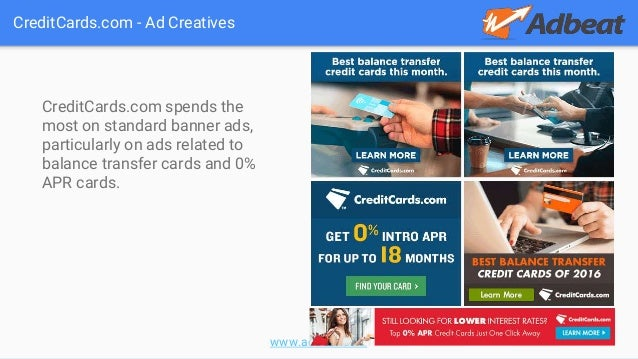 The business of display part 8 credit card affiliate offers 10 adbeat creditcards colourmoves