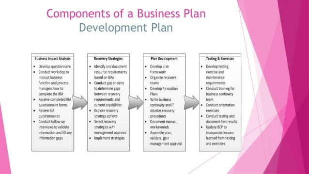 ten components of a business plan