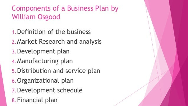 cis meaning business plan