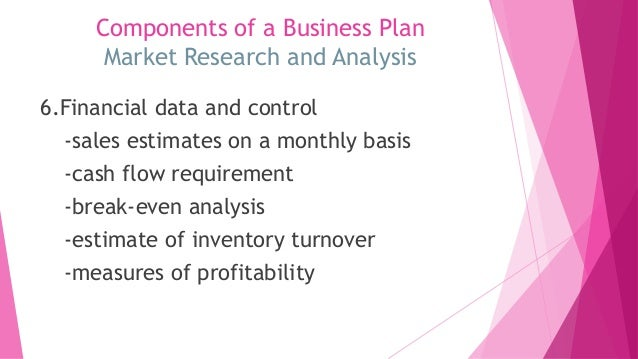 Components of a Business Plan for a Health Care Organization