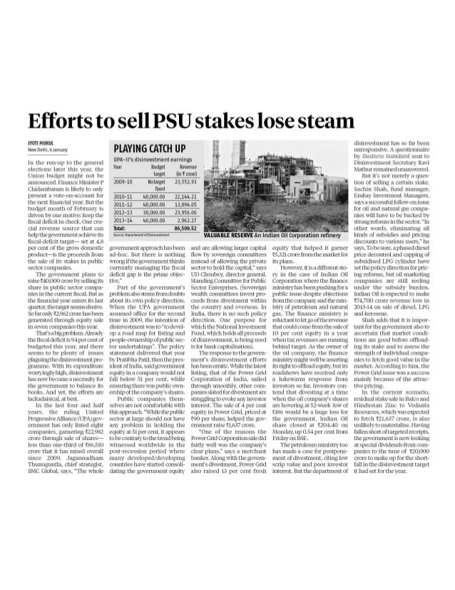 The business standard   07.01.14.