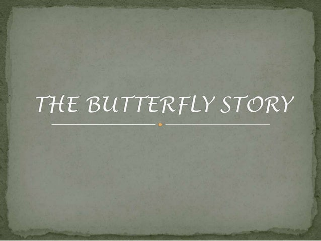 A man found a cocoon of a butterfly.  One day a small opening appeared.  He sat and watched the butterfly for  several hou...