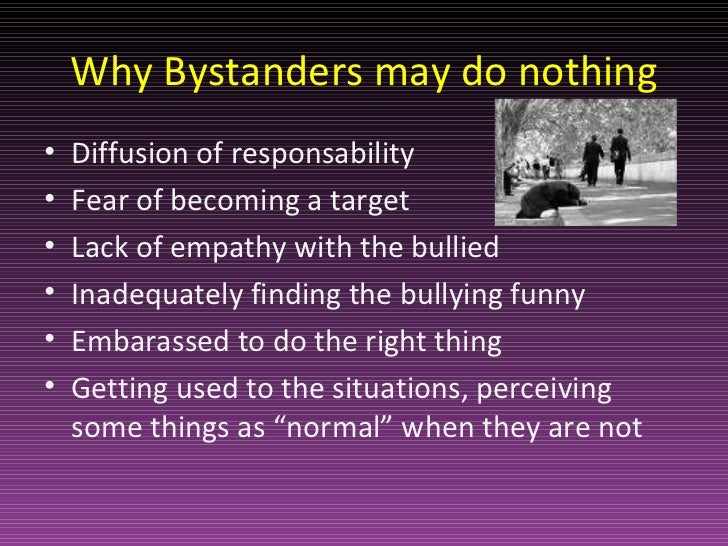 the by stander effect Introduction the bystander effect is a social psychological occurrence that refers to scenarios where individuals do not provide help during emergency cases to the victim in the presence of other people.