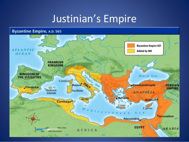 Justinian's Code • For his empire, Justinian organized laws – with over 4,000 written laws, they are better known as Justi...