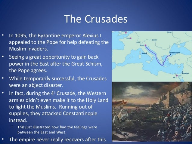 Crisis and Collapse • Constantinople Falls –Ottoman Turks captured Constantinople in 1453 and renamed it Istanbul –Muslim ...
