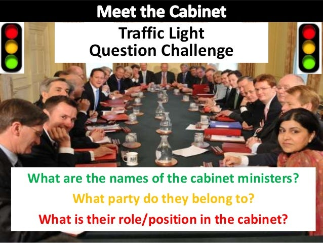 ... The Cabinet; 3. Traffic Light Question Challenge What Are ...