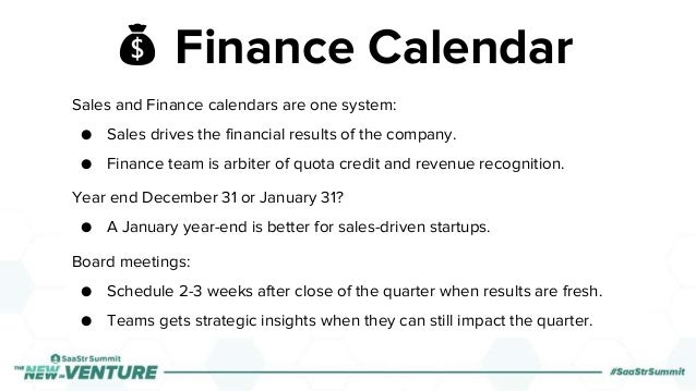 💰 Finance Calendar Sales and Finance calendars are one system: ● Sales drives the financial results of the company. ● Fina...