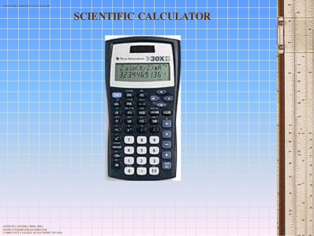 The calculator