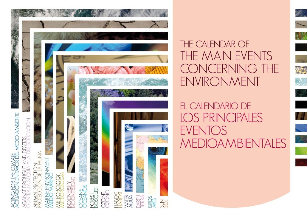 THE CALENDAR OF THE MAIN EVENTS  CONCERNING THE ENVIROMENT (II)