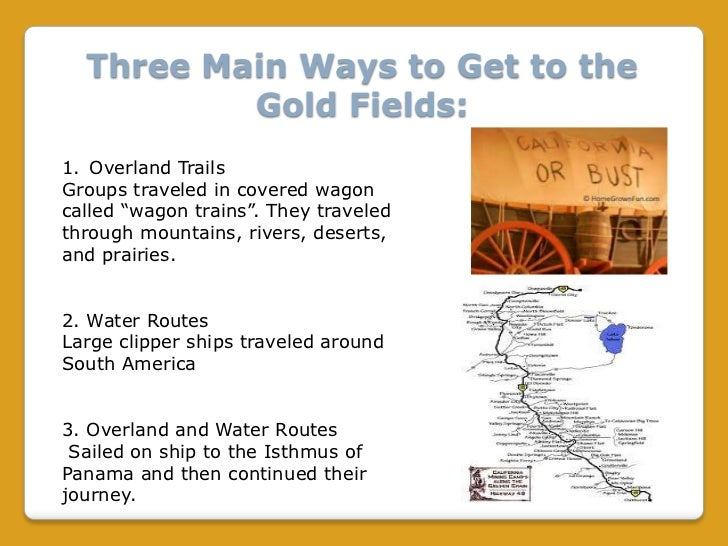The California Gold Rush 1849