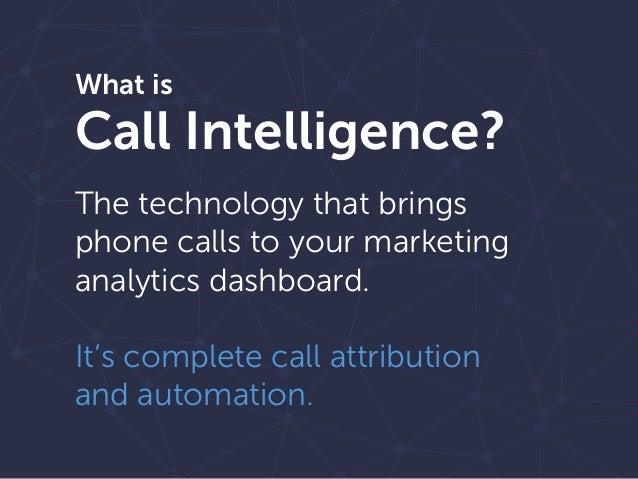 The Call Intelligence Effect on Marketing Slide 2